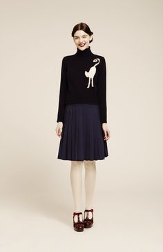 Orla Kiely lookbook for Autumn Winter 14