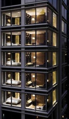 The Jervois, Hong Kong / Designed by Florent Nédélec (exteriors) and Christian Liaigre (interiors). #architecture ☮k☮