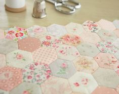 Thimble Sized Hexagons - Pretty By Hand