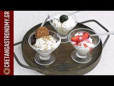 Εύκολο σπιτικό παγωτό χωρίς παγωτομηχανή! (VIDEO) - cretangastronomy.gr Chocolate Fondue, Frozen, Ice Cream, Pudding, Cooking, Desserts, Food, Youtube, No Churn Ice Cream