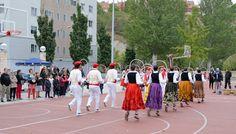 cosasdeantonio: Fiestas de Echavacoiz Año 2016 - Dantzaris (3) Street View, October, Fiestas
