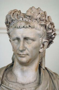 Naples National Archaeological Museum a portrait of Emperor Claudius