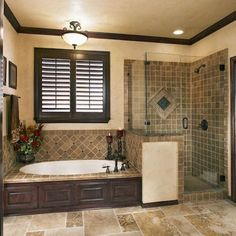 Gorgeous 47 Insanely Cool Master Bathroom Remodel Inspiration http://decoraiso.com/index.php/2018/05/16/__trashed/ Ideas Baños, Tile Ideas, Master Bathroom Remodel Ideas, Bathroom Ideas, Bathroom Inspiration, Bath Ideas, Bathroom Makeovers, Bathroom Pictures, Bathroom Designs