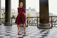 Say hello to your new check mate! Shop with 15% off for 24 hours with code LDN1 (UK) or LDN2 (US) #Boden #AW14