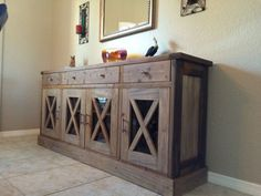 Diy Furniture Dining Room Sideboard