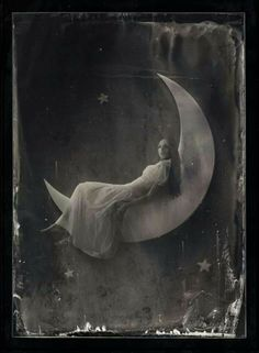 I would love to find a paper moon to hang on the wall.