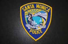 Santa Monica Police Patch, Los Angeles County, California (Current 1990 Issue)