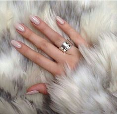 Classy#nails#manicure#nude