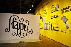 Stefan Sagmeister: The happy show at design exchange (Toronto)