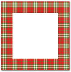 View Design #34597: red green plaid frame