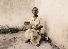 The challenge of poverty and the incredible resilience of a young girl are etched all over this astonishing documentary portrait. This print is available for purchase in two sizes   60 x 80cm   83 x 110cm.  #artphotographygallery #art #print #photography #portrait #documentary Photography Gallery, Fine Art Photography, Photographic Prints, Documentary, Africa, Art Print, Challenges, The Incredibles, Statue
