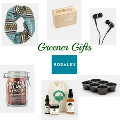 Greener Gifts from Rodales by @MindfulMomma