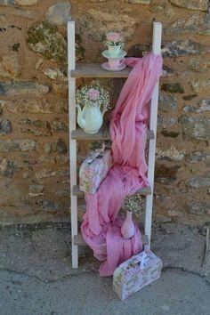 Wedding Favors, Wedding Decorations, Sarah Key, Baptism Party, Shabby Chic Decor, Christening, Ladder Decor, Rustic Wedding, Diy And Crafts