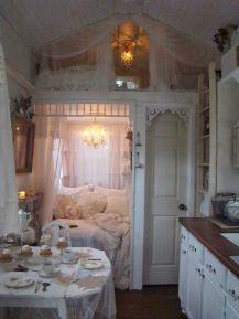 Stunning shabby chic bedroom decorating ideas (5)