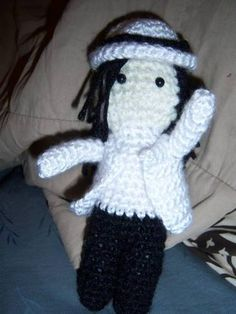 Michael Jackson amigurumi