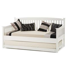 Eleanor Day Bed and Guest Bed, Opal White