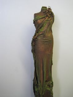 Técnica con PAVERPOL para hacer esculturas.
