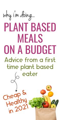 Plant based diet for beginners. Have you ever wondered what the best food is for your body? In this post I will show you all the Nurtitarian Diet Rules and hacks I've learned to practice a plant based diet on a budget. From plant based meals to plant based recipes and even all the items you need to start a plant based diet. Dont forget to save this post to your Healthy Eating or Frugal Living board for future reference. Plant Based Diet Benefits | Plant Based Meals On A Budget