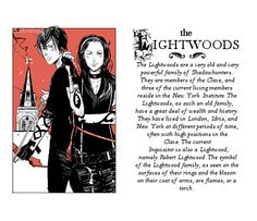dont keep love around — shadowhuntr Famous Shadowhunter families