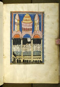 De balneis Puteolanis, MS G.74 fol. 22r - Images from Medieval and Renaissance Manuscripts - The Morgan Library & Museum
