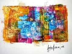Arte abstracto Ayelen Arrigo