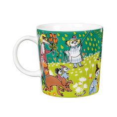 Moomin mug Tove Jansson, Moomin Mugs, Illustration Art, Illustrations, Troll, Tea Cups, Joy, Journal, Watercolor