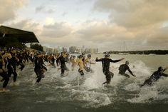 Triathlon  in Key Biscayne
