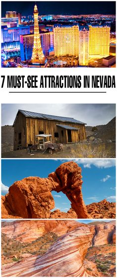 Nevada is filled with things to do and see from the iconic Hoover Dam to the famous Las Vegas Strip. Here are 7 of the best attractions in Nevada.