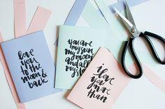 DIY Printable Valentine's Day Cards