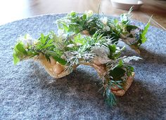 Toast, herbs, smoked cod roe and vinegar #Pastry #Food #Gastronomy #FatCat #Restaurant #Wine #ArtFood #noma