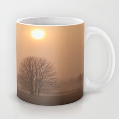 Early morning in a clearing Mug