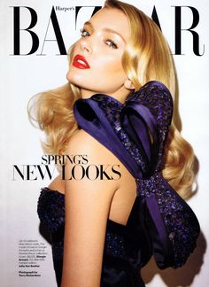 Lily Donaldson by Terry Richardson for Harpers Bazaar US January 2011