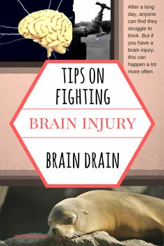 My blog on living with brain injury: After my brain injury I can easily become drained. So I have been investigating how to beat the brain drain as I'm determined to move forward now.