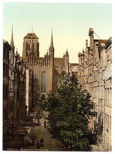 Германия в конце 19-го века / до Второй мировой войны (исторические фото) - Данциг
