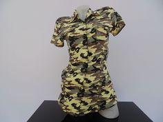 Maskáčová košeľa 390