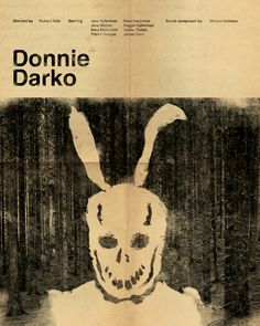 Donnie Darko Minimal Movie Poster Art Print by tentaQel - X-Small Movie Poster Art, Poster Wall, Donnie Darko Movie, Advanced Higher Art, Indie Room, Patrick Swayze, Minimal Movie Posters, Drew Barrymore, Iconic Movies