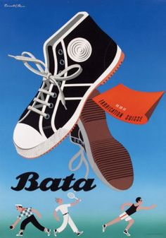 Donald Brun for BATA shoes