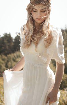 Hippie Style-Wedding Dress- Felicita Design Brautkleid