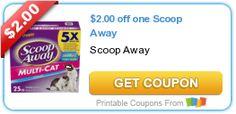 $2.00 off one Scoop Away