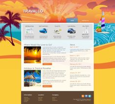 Travallo - Like this design? Have it customized with your logo and content! - JoomlaNinja.in