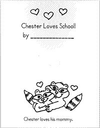 I am going to use this the first day of school after reading the Kissing Hand.