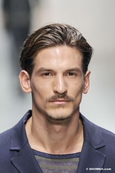Jarrod Scott at Ermanno Scervino SS/2014 beauty