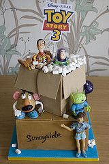 Toy Story 3 I think this is cute for Noahs birthday party ! A little decor