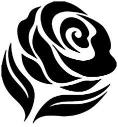 Henna Stencils, Rose Stencil, Stencil Diy, Stencil Painting, Fabric Painting, Stencil Templates, Stencil Patterns, Kirigami, Plasma Cutter Art