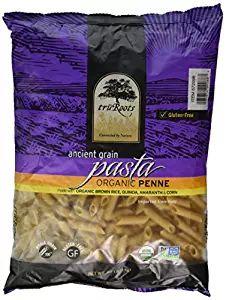 TruRoots Gluten-free Ancient Grain Penne Pasta (2.2 Lbs / 1 KG)  Price:13,45$  https://www.amazon.com/gp/product/B00CIZ8NHM/ref=as_li_qf_sp_asin_il_tl?ie=UTF8&tag=bestselle0b0f-20&camp=1789&creative=9325&linkCode=as2&creativeASIN=B00CIZ8NHM&linkId=be13ea4c3c6d033e7183772e926f559d