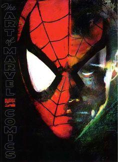 alexhchung:  Spider-Man by Bill Sienkiewicz