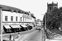 Church Street c1955, Cannock