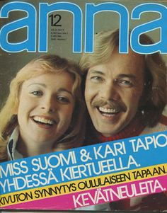 Anna - 1977/12 Old Commercials, Magazine Articles, Finland, Album Covers, Retro Vintage, Nostalgia, Memories, Books, Poster