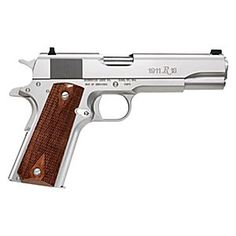 Buy the Remington 1911 Stainless Semi-Auto Pistol and more quality Fishing, Hunting and Outdoor gear at Bass Pro Shops. 1911 Pistol, Revolver, Springfield 1911, Survival Weapons, 45 Acp, Urban Survival, Hunting Gear, Airsoft Guns, Guns And Ammo