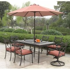 Patio Set 7 Piece